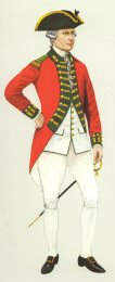 Officer, 49th Foot, 1775 by P H Smitherman