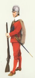 Musketeer, 1st Guards 1660 by P H Smitherman