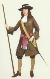 Officer, Coldstream Guards 1680 by P H Smitherman