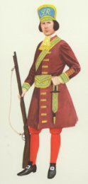 Grenadier Officer, 1st Guards 1688 by P H Smitherman