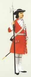Sergeant 1707   Royal Scots by P H Smitherman