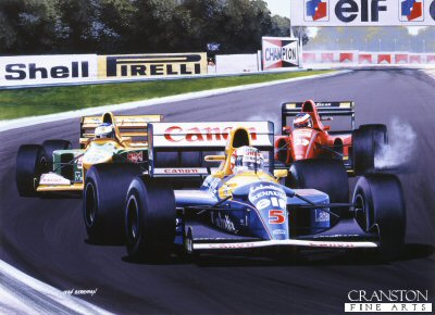 Mansell by Ivan Berryman. (GS)