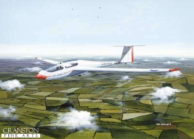 Air Cadet Glider by Ivan Berryman.