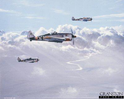 Fw190s by Ivan Berryman. (APB)