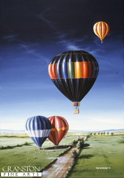 Hot Air Balloons by Ivan Berryman.