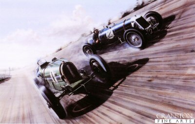 Brooklands Banking by Ivan Berryman.