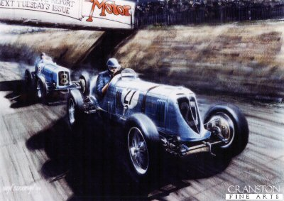 Classic Brooklands by Ivan Berryman.