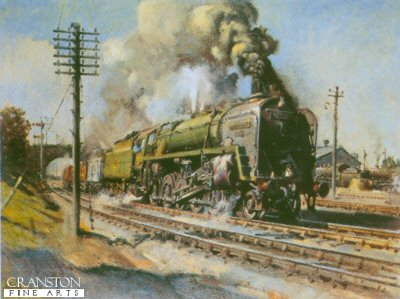 Evening Star by Terence Cuneo
