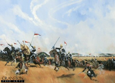 Ulundi 4th July 1879 - Charge of the 17th Lancers by Jason Askew. (PC)