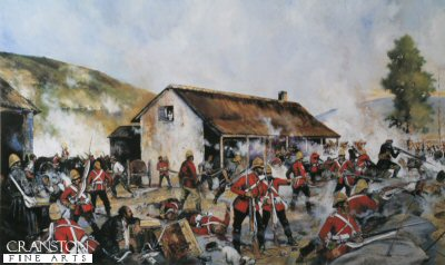 Rorkes Drift 22nd January 1879 - Defending the Hospital by Jason Askew. (B)