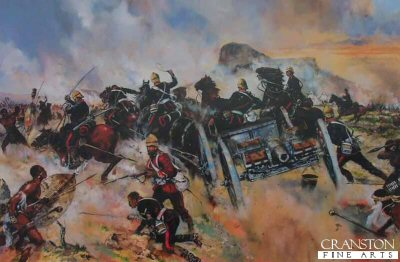 Isandlwana 22nd January 1879 - Saving The Guns by Jason Askew