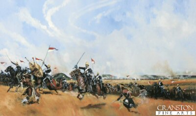 Ulundi 4th July 1879 - Charge of the 17th Lancers by Jason Askew.