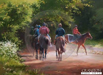 The Journey Home, Newmarket by Jacqueline Stanhope.