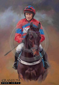 Sprinter Sacre and Barry Geraghty by Jacqueline Stanhope.