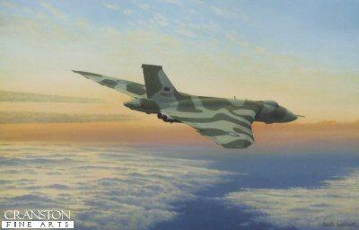 Falklands Bomber by Keith Aspinall. (B)