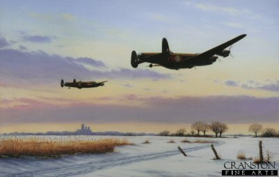 Lincolnshire Winter 1943 by Keith Aspinall.