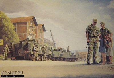 Peacekeeping in the Balkans by Kevin Lyles. (AP)