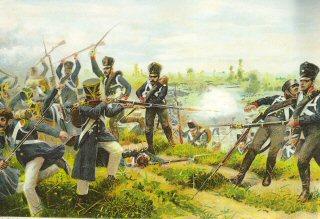 Das Leibregiment bei Wartenburg 3rd Oktober 1813 by R Knotel