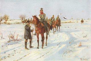 Ein Erkennungsritt (Preussische Ulanen) by R Knotel