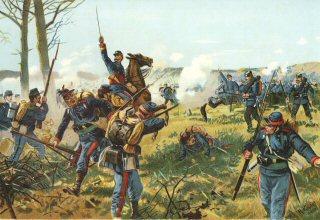 Das Badische Leib Regiment bei Nuits. 18th Dezember 1870 by Richard Knotel