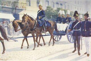 Rudfehr von der Parade by R Knotel