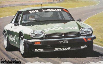 Jaguar TWR XJS by Keith Woodcock.