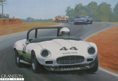 E-Type Victory Swansong by Keith Woodcock