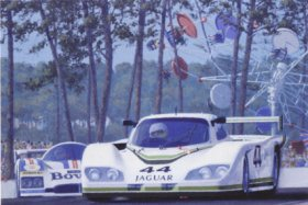 Jaguars Return to Le Mans by Keith Woodcock.