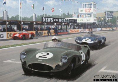 Aston Martin World Champions by Keith Woodcock.