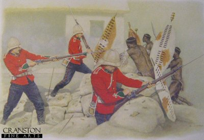 Rorkes Drift January 22nd, 1879 by Stuart Liptrot