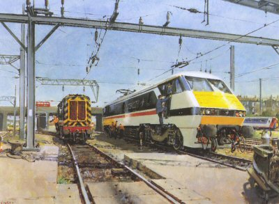 Intercity by Terence Cuneo.