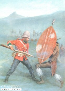 Isandlwana 1879 by Stuart Liptrot