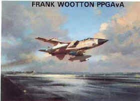 RAF Tornado- Operation Desert Storm 1991 by Frank Wootton.