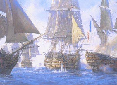Victory Breaks the Enemy Line by Geoff Hunt.