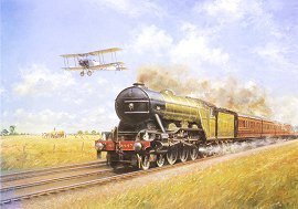 Chasing the Flying Scotsman by John Young