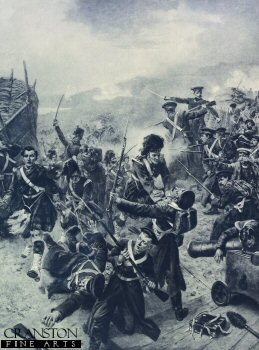 Battle of Alma by Robert Hillingford