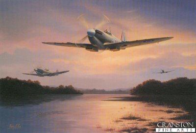 Spitfire Sunset by Barry Price.