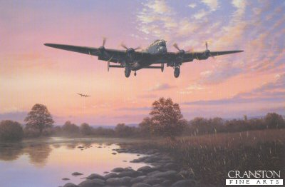 Lancaster Dawn by Barry Price.