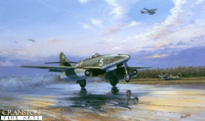 Luftwaffe Messerschmitt Me262A-1a by Barry Price.