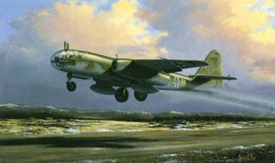 Luftwaffe Arado 234 B-2 by Barry Price.