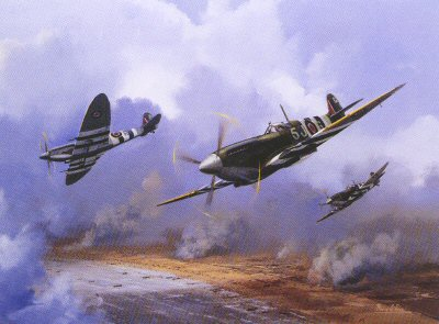 D-Day Spitfires by Barry Price.