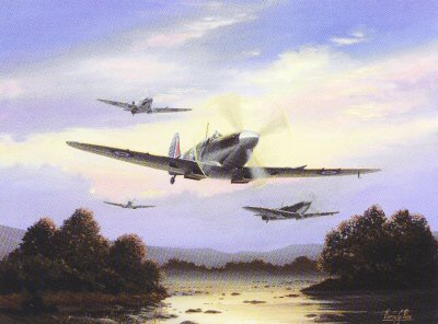 Spitfires at Dawn by Barry Price.