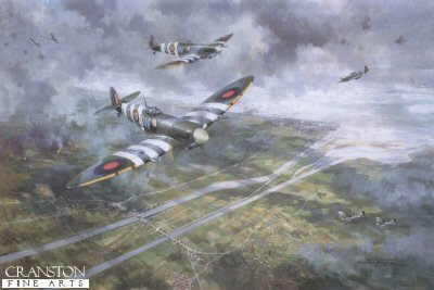 Normandy Veterans Association 60th Anniversary Limited Edition Print by Michael Turner.