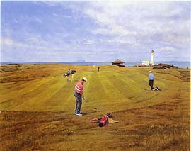 Turnberry (9th Hole) by Peter Munro