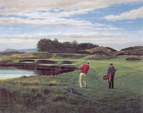 Gleneagles (2nd Hole) by Peter Munro