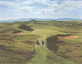 Royal Troon (8th Hole) by Peter Munro