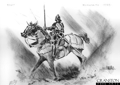 Study for the original painting Richard III at the Battle of Bosworth.