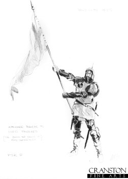 Bosworth 1485 - Standard Bearer to Lord Ferrers by Mark Churms. (P)
