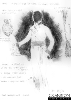 San Sebastian - Ensign Figure Study by Mark Churms. (P)
