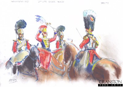 2nd Life Guards Band 1829 by Mark Churms. (P)
